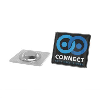 Pin Metal with magnet